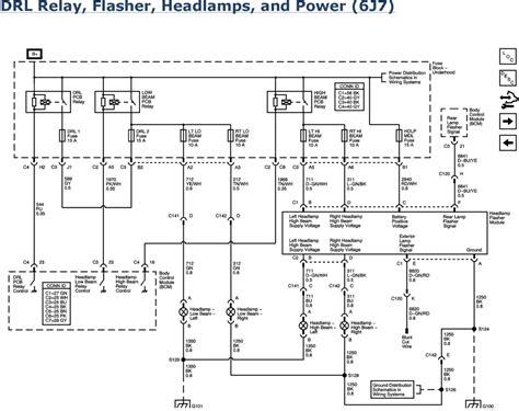 2006 chevy impala headlight wiring diagram wiring