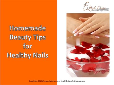 Health 12 Tips For Beautiful Nails by Tips For Healthy Nails