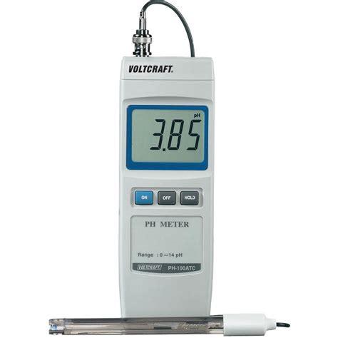Ph Meter Voltcraft Ph 100 Atc Ph Meter From Conrad