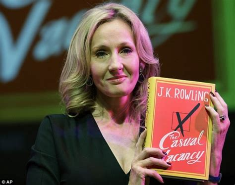 Jk Rowling The Casual Vacancy crucifying shepherd for post about j k rowling will only perpetuate a negative cycle