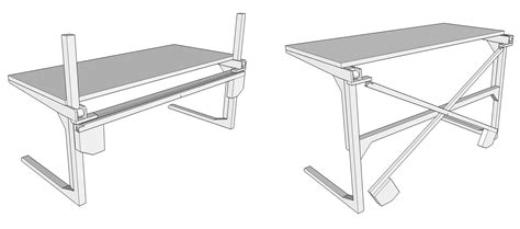 standing desk plans lowes stand up desk plans
