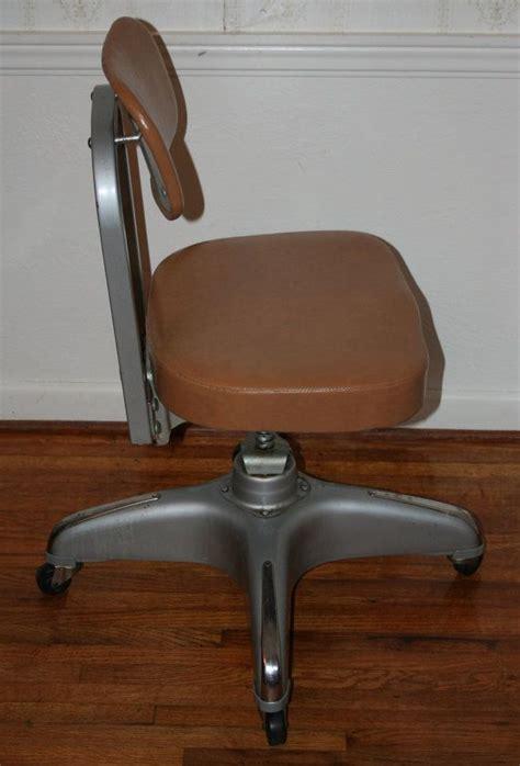 vintage industrial desk chair vintage industrial cole steel office chair vinyl