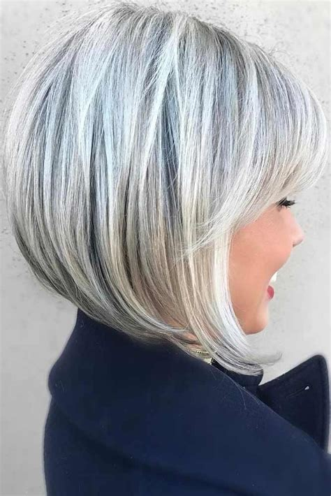 gray hair bob haircuts 39 short layered hairstyles for women short layered