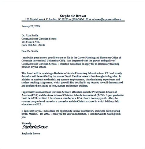 teach for america cover letter create a cover letter