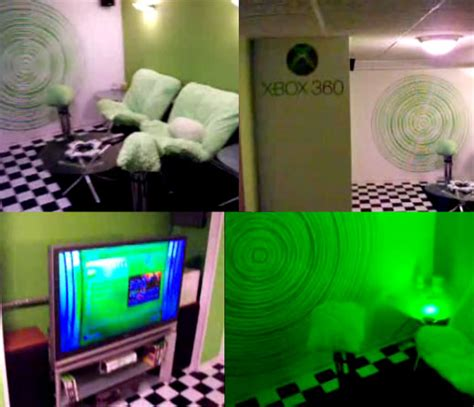 Xbox Room xbox 360 room has me slightly green with envy technabob