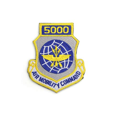 by order of the commander air mobility command instruction air mobility command 5000 hour patch air mobility