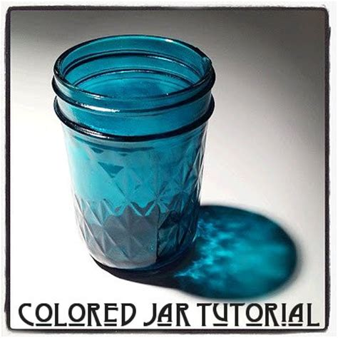colored glass jars dishfunctional designs colored glass jar tutorial