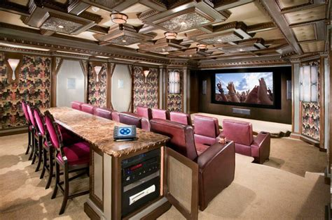 home movie theatre decor award winning luxury theater room