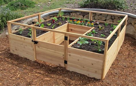 Wooden Raised Garden Bed Kits by Gardening Adventure Fitness Geekiness