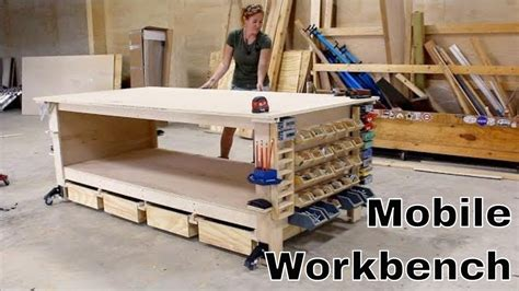 ultimate workbench  shop storage solutions youtube