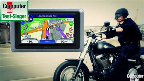 Navigation F R Motorrad Garmin by Garmin Zumo 660lm Motorrad Navi Im Test Computer Bild