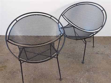 pair of salterini patio chairs at 1stdibs
