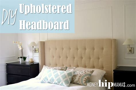 bedroom impressive diy upholstered headboard diy