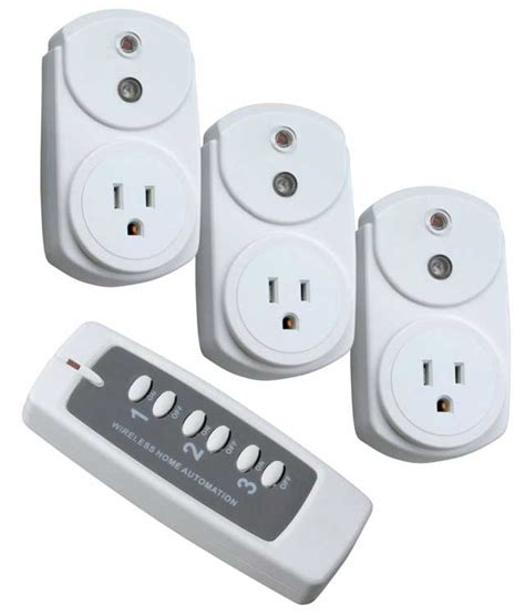 woods 13568 3 outlet indoor wireless remote outlet