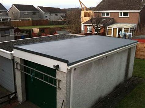 Replacing A Flat Garage Roof by Photos Fibreglassroofrepair Co Uk