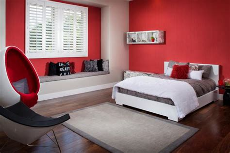 bright red bedroom unexpected bedroom paint colors worth the design risk
