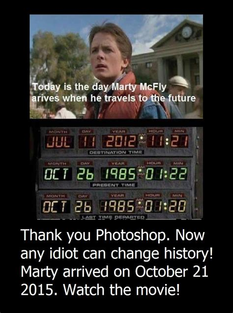 The Future Meme - something geeky this way comes back to the future meme
