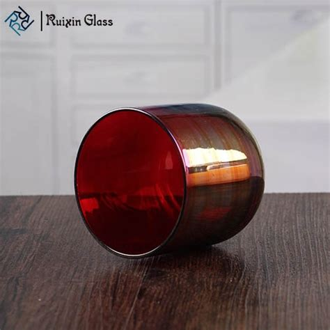 4 Inch Candle Holders by Wholesale High Quality Marroon Glass Candle Holder 4 Inch