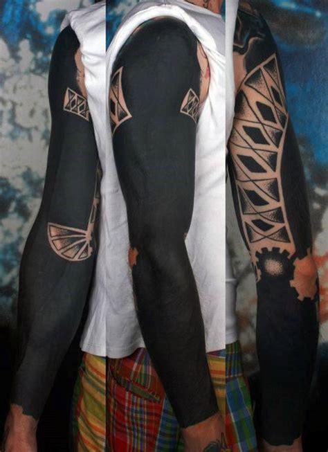 extreme blackwork tattoo 75 blackwork tattoo designs for men bold masculine ink