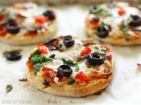 Toaster Oven Baking Freezer Ready Mini Pizzas Budget Bytes