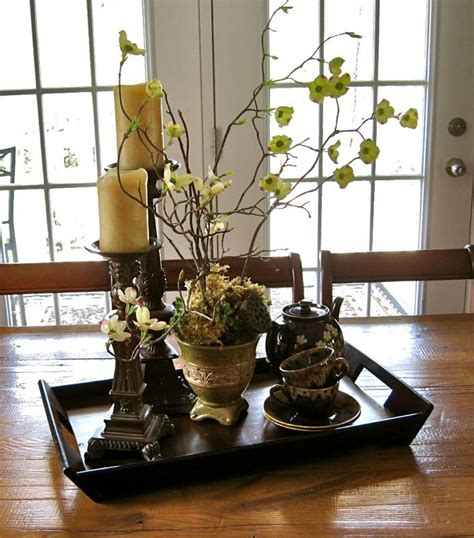 kitchen table decorations ideas best 20 dining table centerpieces ideas on pinterest