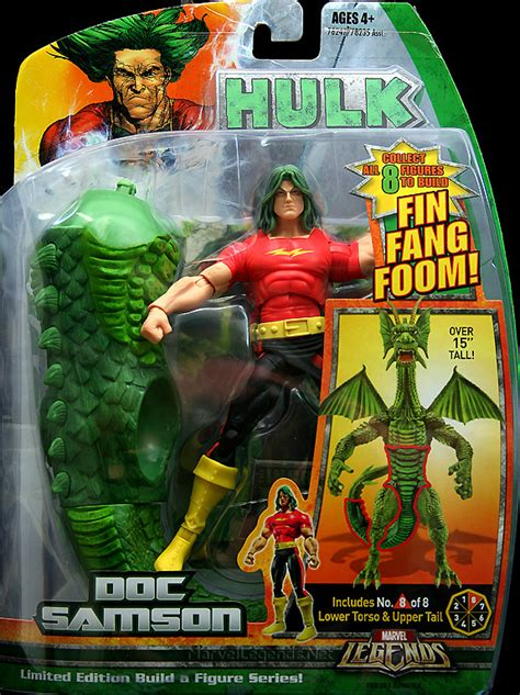 ty burrell doc samson marvellegends net marvel legends fin fang foom series