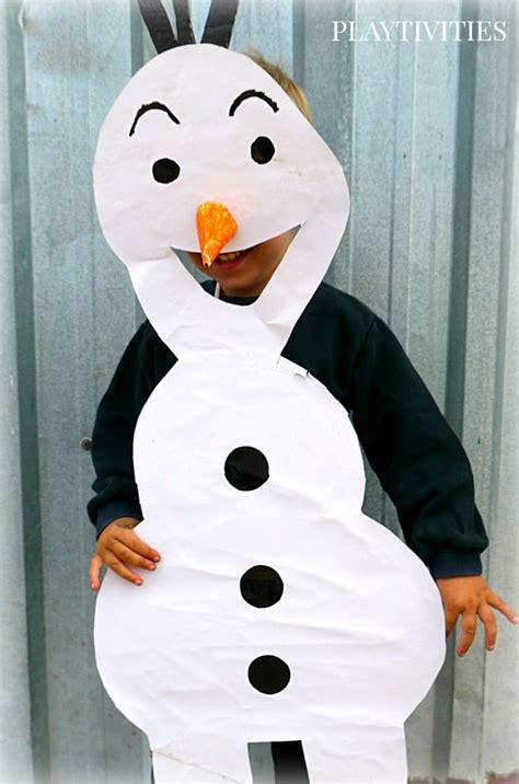 olaf costume easy costume playtivities