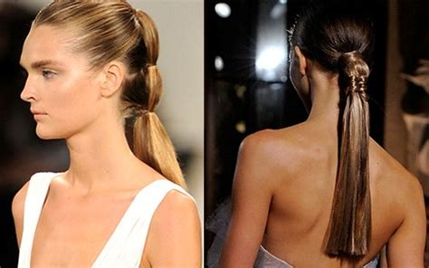 whats   popular hair style   ponytail