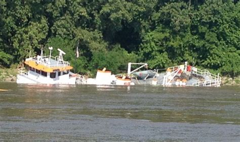 eric haney towboat tug eric haney sank near cairo illinois maritime bulletin