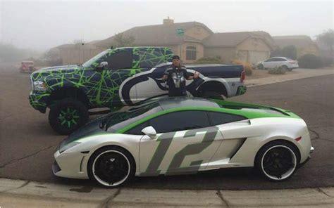 Lamborghini Of Seattle Look Seattle Fan Has Customized Seahawks