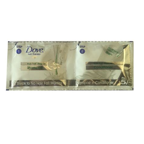 Shoo Dove Sachet 1 Renceng dove shoo conditioner hair fall rescue sachet rs 5