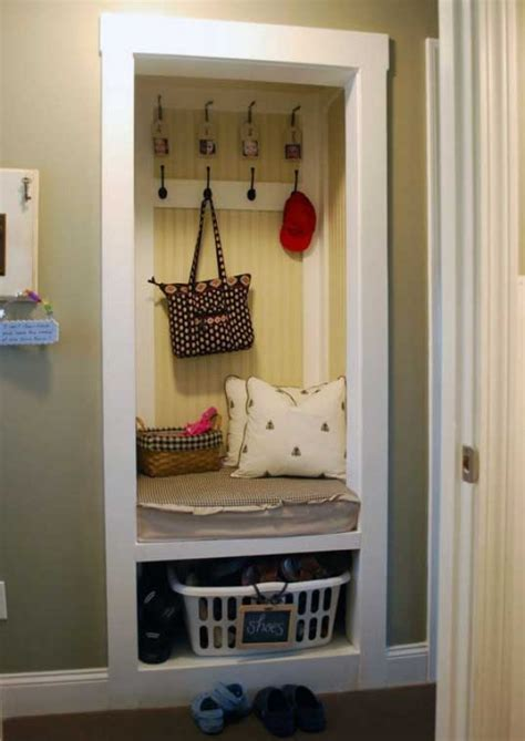 Ikea Transforming Furniture by How To Create A Mudroom In A Small Apartment Freshome Com
