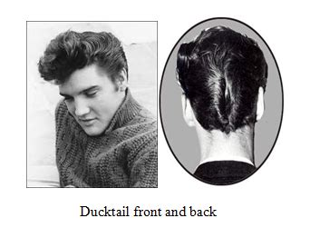 Ducktail Hairstyle by Retro Hairstyles I Am Alpha M