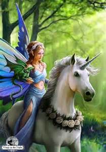 anne stokes realm of enchantment unicorn greeting card
