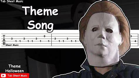 halloween theme music youtube halloween theme song guitar tutorial youtube