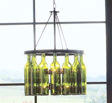 Wine Bottle Chandelier Frame Wine Bottle Chandelier Frame Home Design Ideas