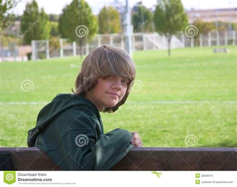 bench boys boy on bench stock photo image of human style school