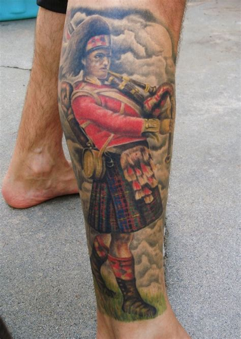 piper tattoo scottish piper designs search tattoos