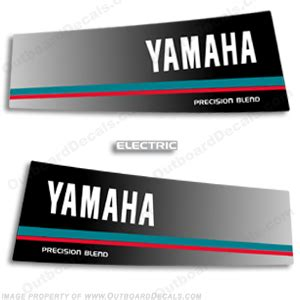 Yamaha 4hp Sticker by Marine Decals For Your Yamaha Outboard Engine