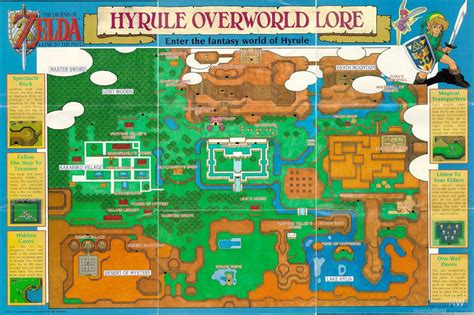 legend of zelda nes map poster the legend of zelda a link to the past feature