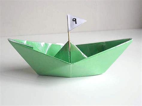 Paper Craft Boat - waterproof paper boat