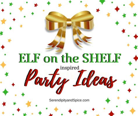 On The Shelf Birthday Ideas by On The Shelf Ideas Serendipity And Spice