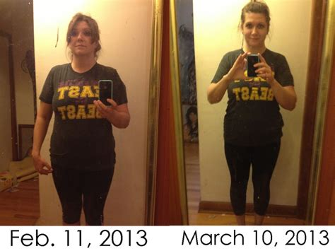 weight loss 1 month before and after one month weight loss before and after