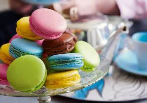 multicoloured macaroons good things