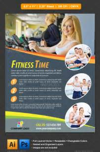 fitness flyer graphicriver