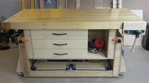 ultimate woodworking bench craftsman vise bench mounting the workbench work bench