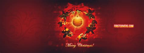 merry christmas facebook cover profile cover  firstcoverscom
