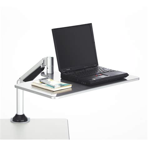 sit stand computer desk desktop sit stand laptop workstation safco products