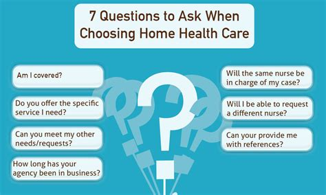 7 questions to ask when choosing home health care info