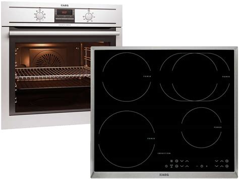 kochfeld induktion aeg aeg be31250 set backofen be3003001m induktion